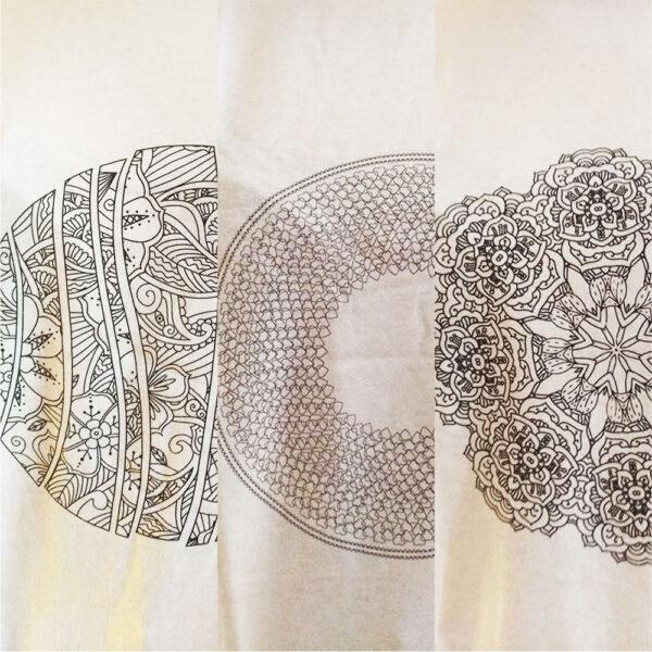 Maglietta Mandala da colorare Abbondanza Sensualità Personalità
