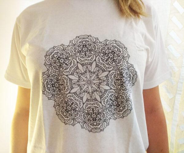 Maglietta Mandala da colorare Personalità